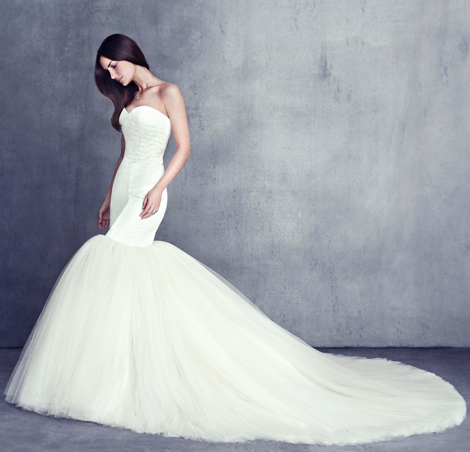 Contemporary Vow Bridal I Found The Gown Sketch - All Wedding ...
